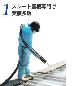 1ストレート屋根専門で実績多数